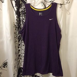 Nike purple tank top